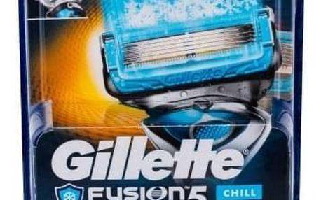 Gillette Fusion Proshield Chill 4 ks náhradní břit pro muže