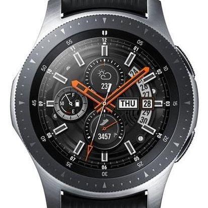 Samsung Galaxy Watch 46mm stříbrné (SM-R800NZSAXEZ)
