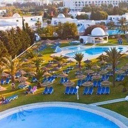 Tunisko - Hammamet na 12 až 15 dní, all inclusive s dopravou letecky z Prahy