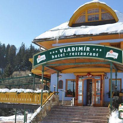 Hotel Vladimír v Janských Lázních s polopenzí