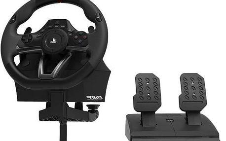 Volant HORI Racing Wheel Apex pro PS4, PS3, PC + pedály černá (ACP464311)