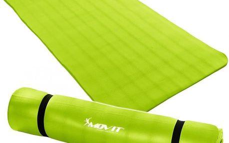 MOVIT 32909 Gymnastická podložka 190 x 100 x 1,5 cm sv. zelená
