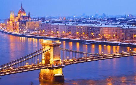 Předvánoční Budapešť: 3 noci, trhy i termály