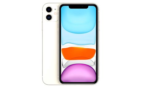 Mobilní telefon Apple iPhone 11 128 GB - White (MWM22CN/A)