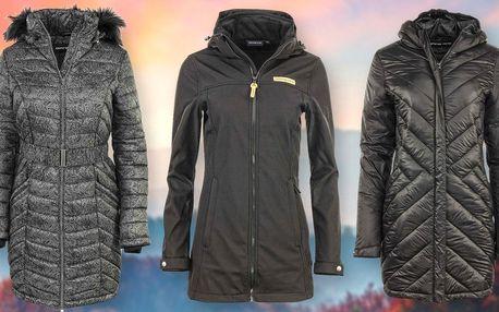 Dámské zimní kabáty Alpine Pro ve 3 variantách