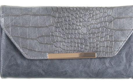 David Jones Menší kabelka - peněženka s motivem hadí kůže