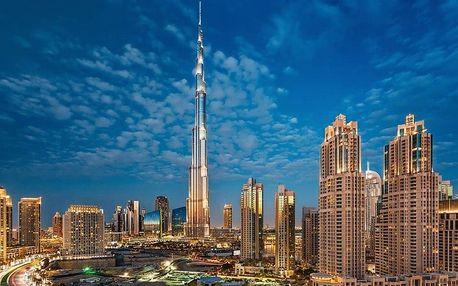 Spojené arabské emiráty - Dubaj letecky na 7 dnů, strava dle programu