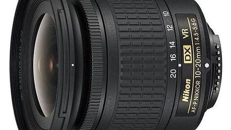 Nikon NIKKOR 10-20 mm f/4.5-5.6G VR AF-P DX černý (JAA832DA)
