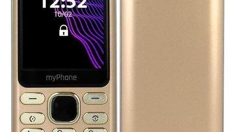 myPhone Maestro zlatý (TELMYMAESTROGO)