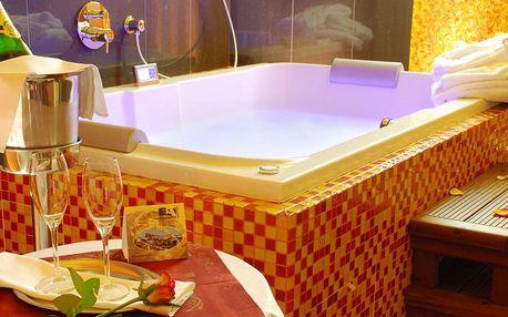 Romantika v Praze: 4* hotel s privátním wellness