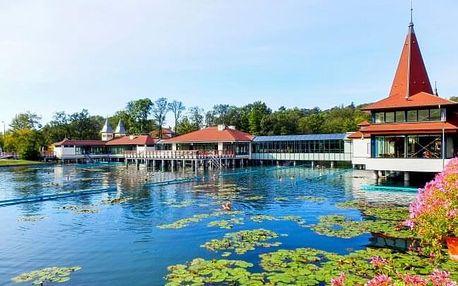 Hévíz: wellness pobyt v Hotelu Erzsébet *** se vstupenkou k termálnímu jezeru