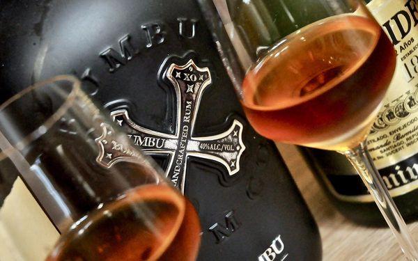 Degustace 5 špičkových rumů pro jednoho2