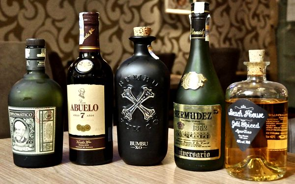 Degustace 5 špičkových rumů pro jednoho3