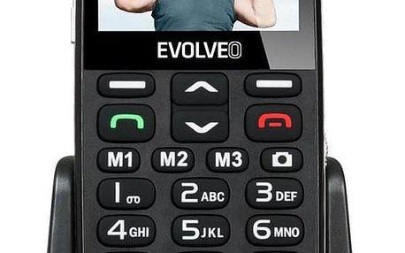 Evolveo EVOLVEO EasyPhone XD pro seniory černý (EP-600-XDB)