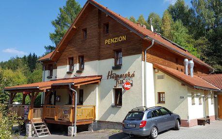 Hamerská Jizba v Krušných horách s polopenzí a platností až do září 2019
