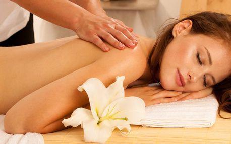 60minutová masáž dle výběru: havajská i aroma