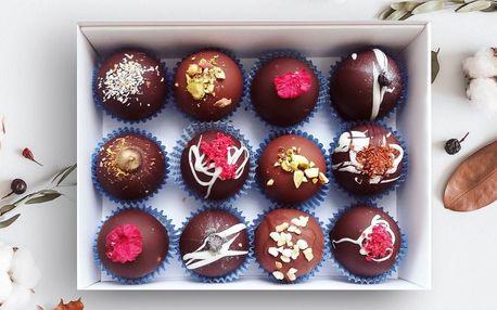 Až 12 ks čokoládových kuliček i slaný karamel