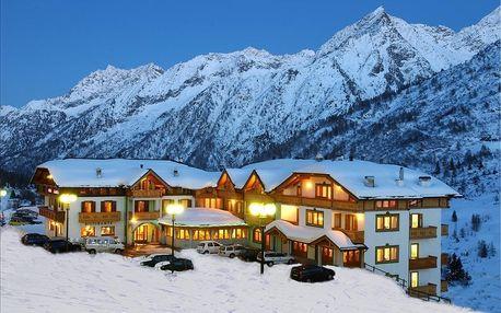 8denní Passo Tonale se skipasem | Hotel Gardenia*** | Děti do 7 let zdarma | Ubytování, Polopenze, wellness