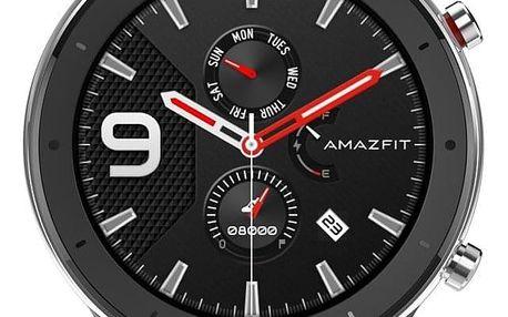 Chytré hodinky Xiaomi Amazfit GTR 47 mm - Stainless Steel (A1902-ST) + DOPRAVA ZDARMA