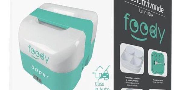 Elektrický obědový box Beper - modrý5