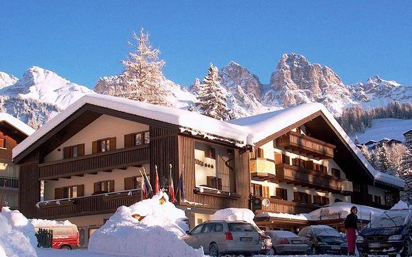 4-8denní Falcade se skipasem | Hotel Arnica**** | Ubytování, polopenze, wellness a skipas