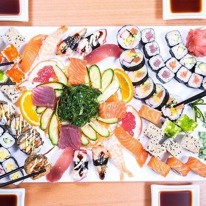 Sushi sety v centru Brna s 30 až 69 kousky