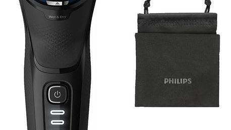Holicí strojek Philips Series 3000 S3233/52 černý