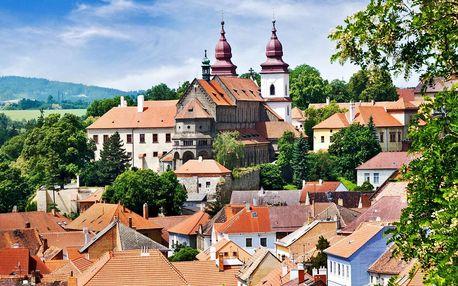 4* relax v Třebíči: polopenze i vstupy do památek