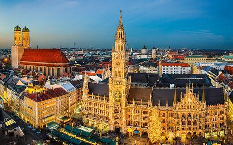 Německo autobusem na 2 dny, snídaně v ceně