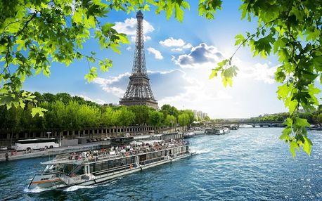 Francie - Paříž autobusem na 7 dnů, strava dle programu