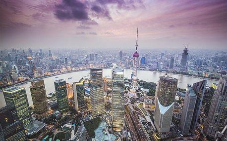 Čína letecky na 9 dnů, strava dle programu