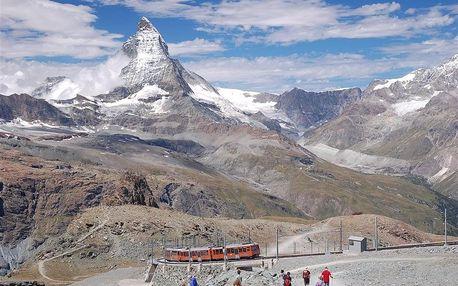 Švýcarsko autobusem na 7 dnů, strava dle programu