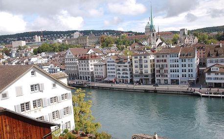 Švýcarsko letecky na 4 dny, strava dle programu