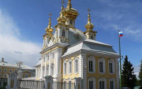 Rusko - Petrohrad letecky na 5 dnů, snídaně v ceně