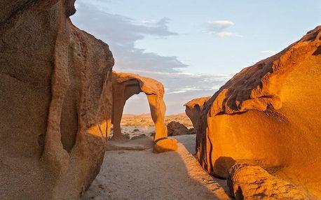 Namibie letecky na 13 dnů, strava dle programu