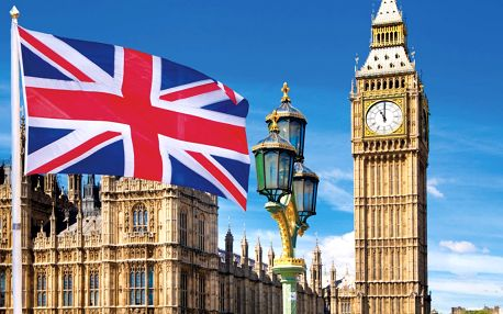 Velká Británie - Londýn letecky na 5 dnů, snídaně v ceně