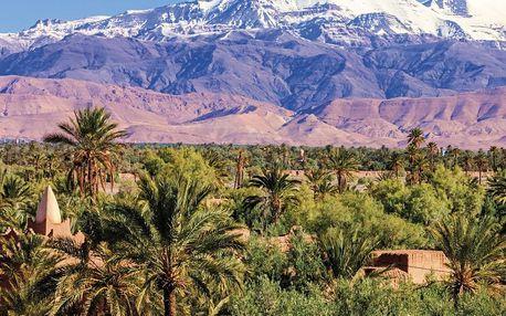 Maroko letecky na 11 dnů, polopenze