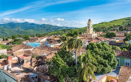 Kuba letecky na 13 dnů, strava dle programu