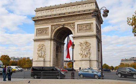 Francie - Paříž letecky na 5 dnů, strava dle programu