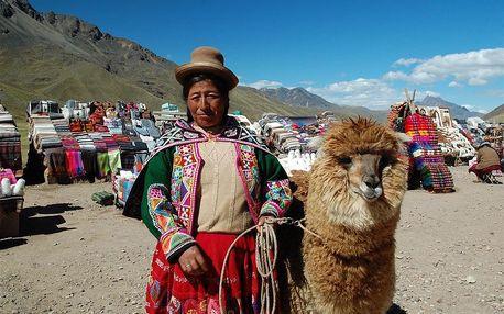 Peru letecky na 9 dnů, strava dle programu