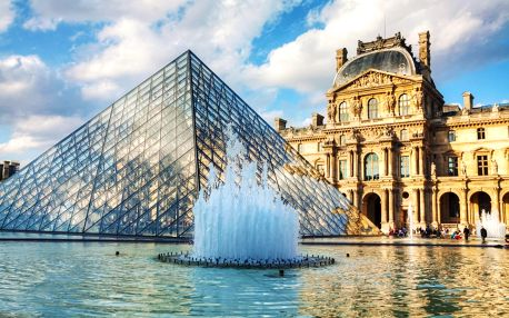 Francie - Paříž autobusem na 4 dny, strava dle programu