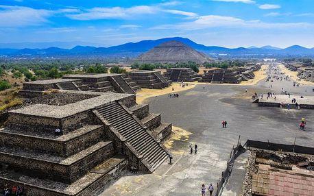 Mexiko letecky na 8 dnů, strava dle programu
