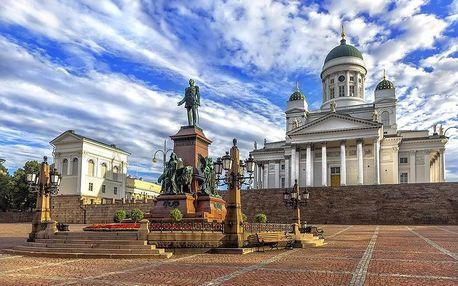 Finsko - Helsinki letecky na 6 dnů, snídaně v ceně