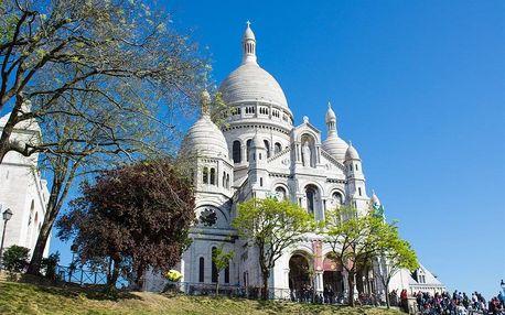 Francie - Paříž autobusem na 6 dnů, strava dle programu