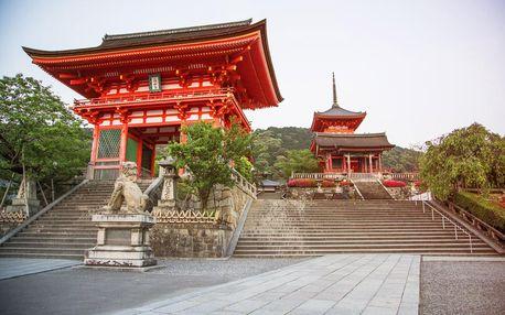 Japonsko letecky na 11 dnů, strava dle programu