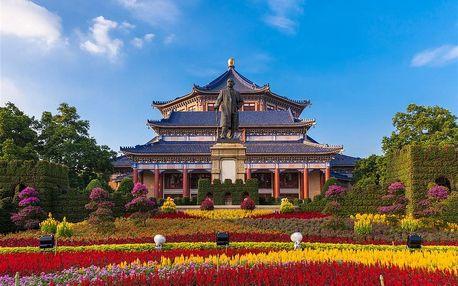 Čína letecky na 12 dnů, strava dle programu