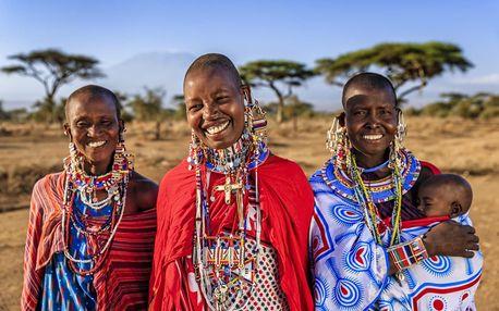 Keňa - Jižní pobřeží letecky na 12 dnů, strava dle programu