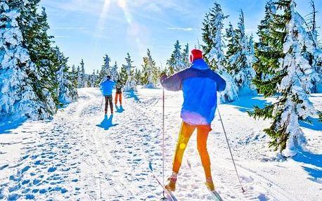 Krkonošský národní park blízko skiareálů v Horském hotelu Rezek s polopenzí