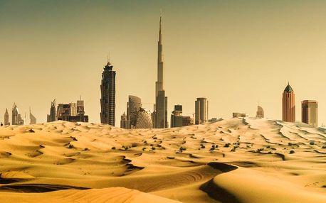 Spojené arabské emiráty - Dubaj letecky na 5 dnů, snídaně v ceně