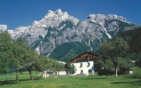 Rakousko - Rakouské Alpy autobusem na 4 dny, strava dle programu